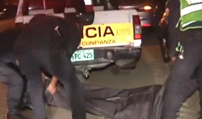 Chorrillos: accidente vehicular deja un muerto en avenida 12 de octubre