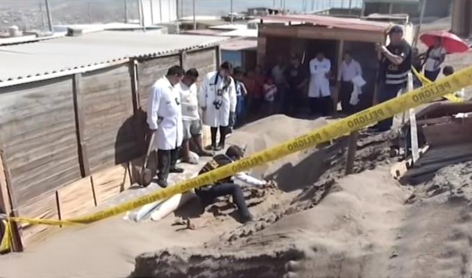 Ancón: hallan cuerpo de mujer enterrado en mercado