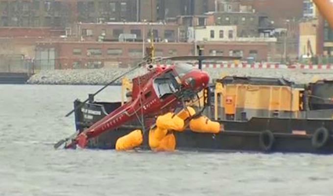 EEUU: maleta pudo ser causa de accidente de helicóptero que dejó 5 muertos