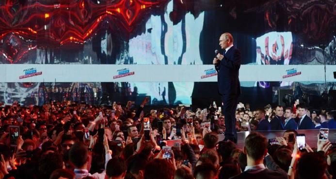 Rusia: presidente Vladimir Putin sería reelegido por abrumadora mayoría