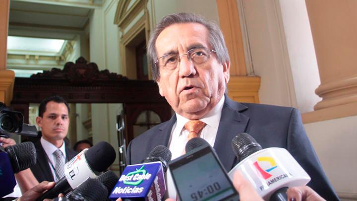 """Jorge del Castillo: """"El tema de fondo está totalmente resuelto"""""""