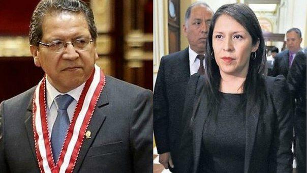 Fiscal de la Nación denunciará a Yeni Vilcatoma por el delito de difamación