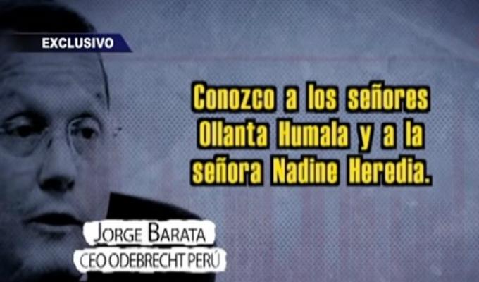 Barata en Español: el audio no publicado del caso Humala - Heredia