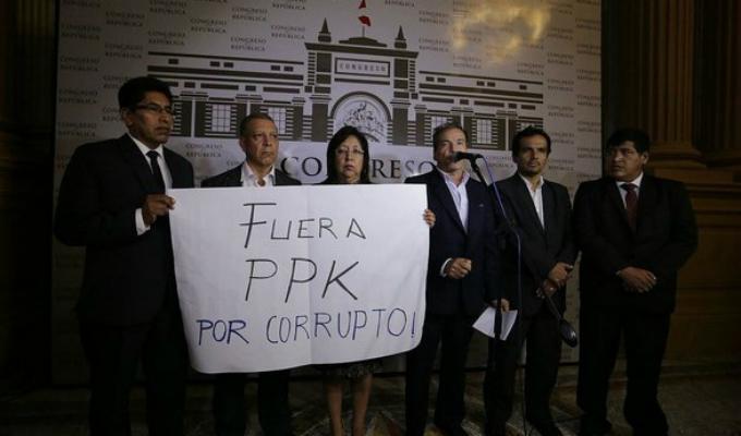 Reacciones tras denuncia sobre presunta compra de votos para evitar vacancia de PPK