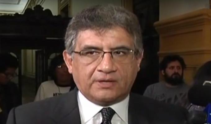 "Juan Sheput: ""Ratifico mi lealtad al presidente de la República"""