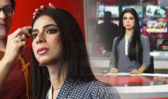 Pakistán: debuta en televisión la primera presentadora de noticias transgénero