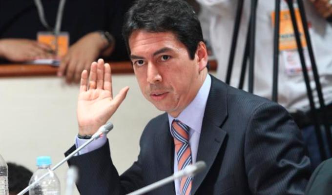 """José Miguel Castro no se presentó a la Comisión """"Lava Jato"""""""