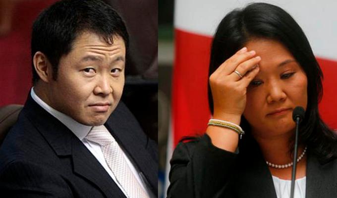 Datum: aprobación de Keiko y Kenji Fujimori cae en solo un mes