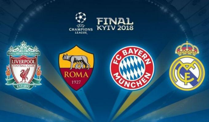 Champions League: ¡Estas son las llaves de semifinales! ¿Cuándo se juegan?