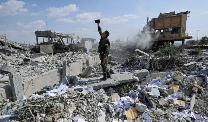 """Siria: Ataque de EEUU es una agresión """"bárbara y brutal"""""""