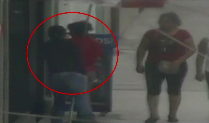 Ate: detienen a ladrón que robó celular a mujer