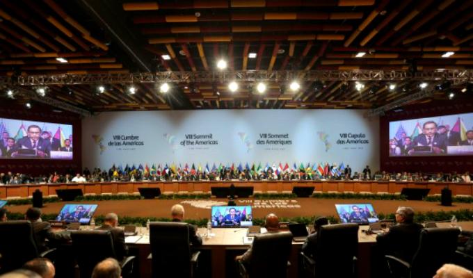 """Cumbre de las Américas: 16 países firmaron """"Declaración sobre Venezuela"""""""