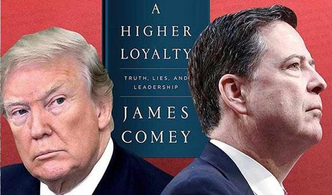 Exdirector del FBI publica libro sobre Donald Trump