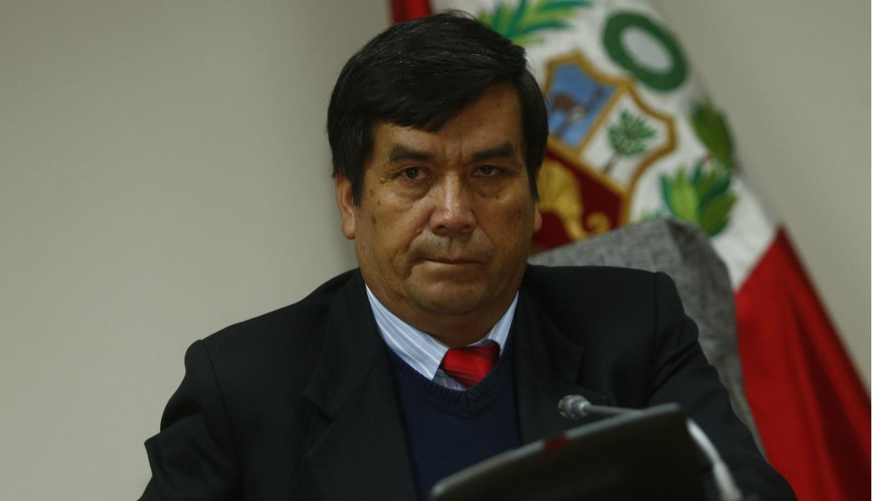 Congresista Benicio Ríos presenta recurso para evitar su detención