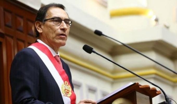 Datum: desaprobación de presidente Vizcarra pasó de 19% a 44% en solo un mes