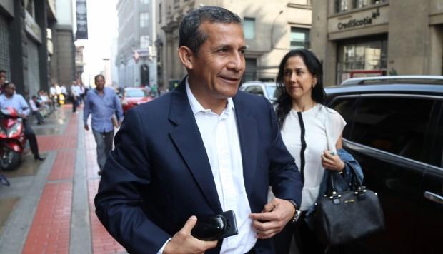 """Humala molesto por burocracia en su caso: """"Hay un doble rasero. Nos tratan de manera abusiva"""""""