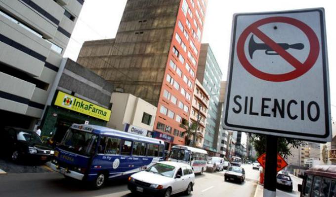 Lima es una de las ciudades con mayor contaminación sonora en el mundo