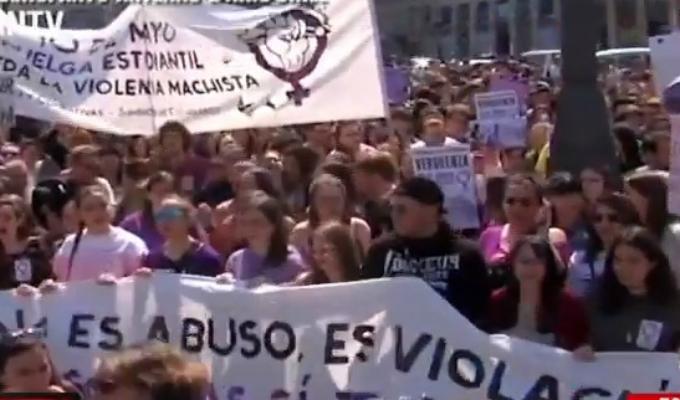 """Manifestaciones en varias ciudades contra la sentencia de """"La Manada"""""""