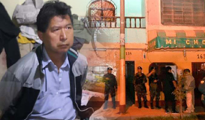"""Huaral: detienen a gerente municipal vinculado a banda """"Los Sanguinarios del Norte Chico"""""""