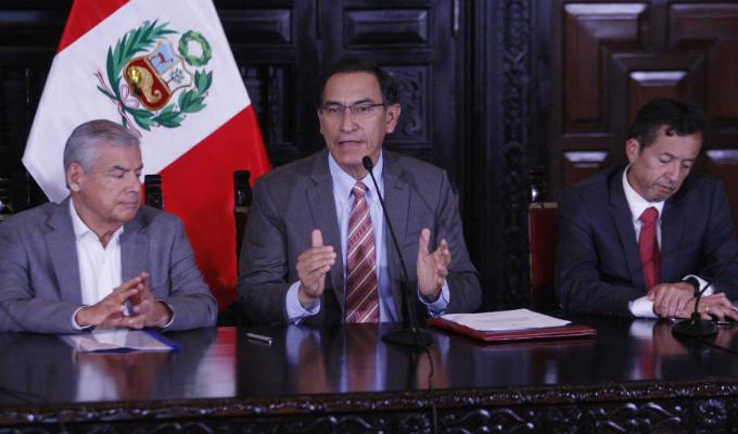 Presidente Vizcarra dará a conocer hoy transferencias para proyectos de inversión