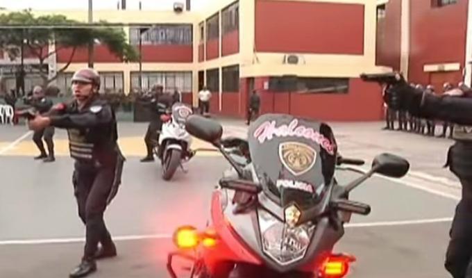 PNP realiza demostración de acciones rápidas para frenar la delincuencia
