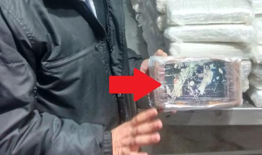 Chancay: incautan una tonelada de droga con fotos del 'Chapo' Guzmán y Pablo Escobar