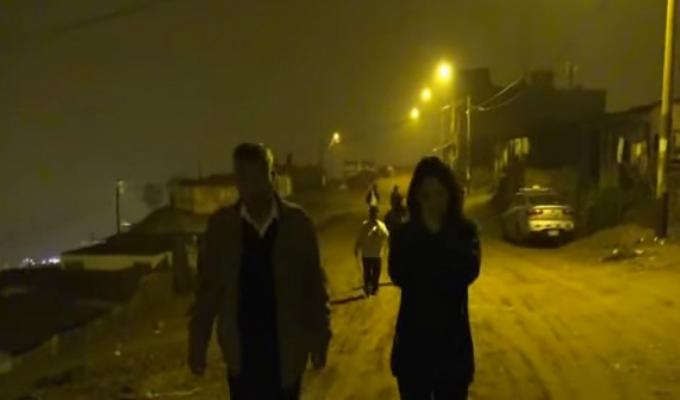 El  extremo frío llegó a las calles de Ventanilla