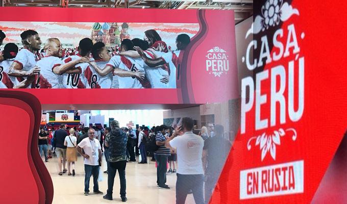 """Moscú: """"Casa Perú"""" recibió a más de 6,000 personas en su primer día"""