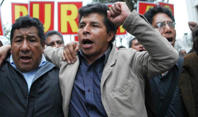Pedro Castillo niega vínculos con Movadef