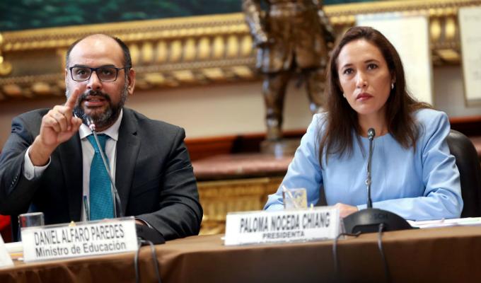 Congreso: ministros de Educación, Economía y Transportes se presentan hoy ante comisiones