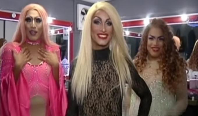 Reportero de Combinado se convierte en drag queen por un día