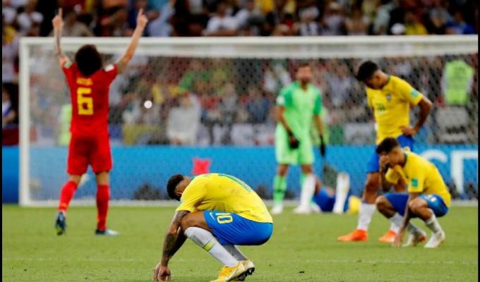 Sorpresa internacional por eliminación de Brasil del mundial