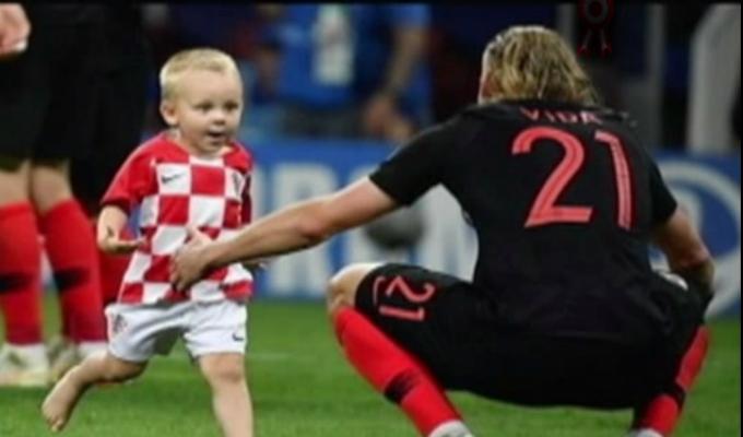 Rusia 2018: Hijo de Vida se robó el show en la celebración croata