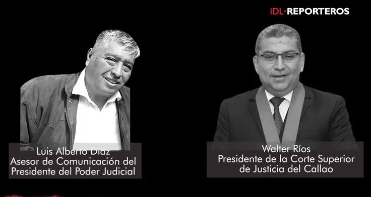 IDL-Reporteros revela nuevo audio que involucra a Walter Ríos y asesor de Duberlí Rodríguez