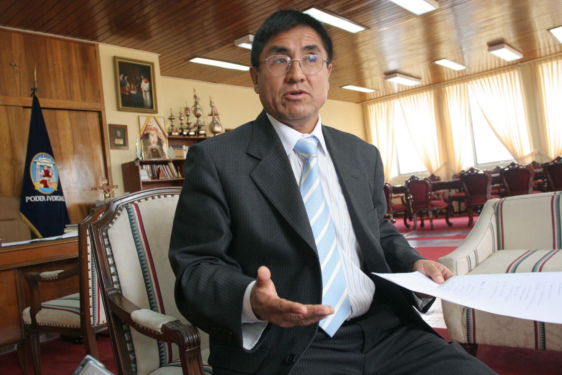 Juez Hinostroza se pronuncia tras pedido del PJ para que renuncie al cargo
