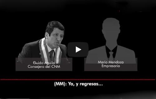 Tras nuevo audio consejero Guido Aguila anunció su renuncia al CNM
