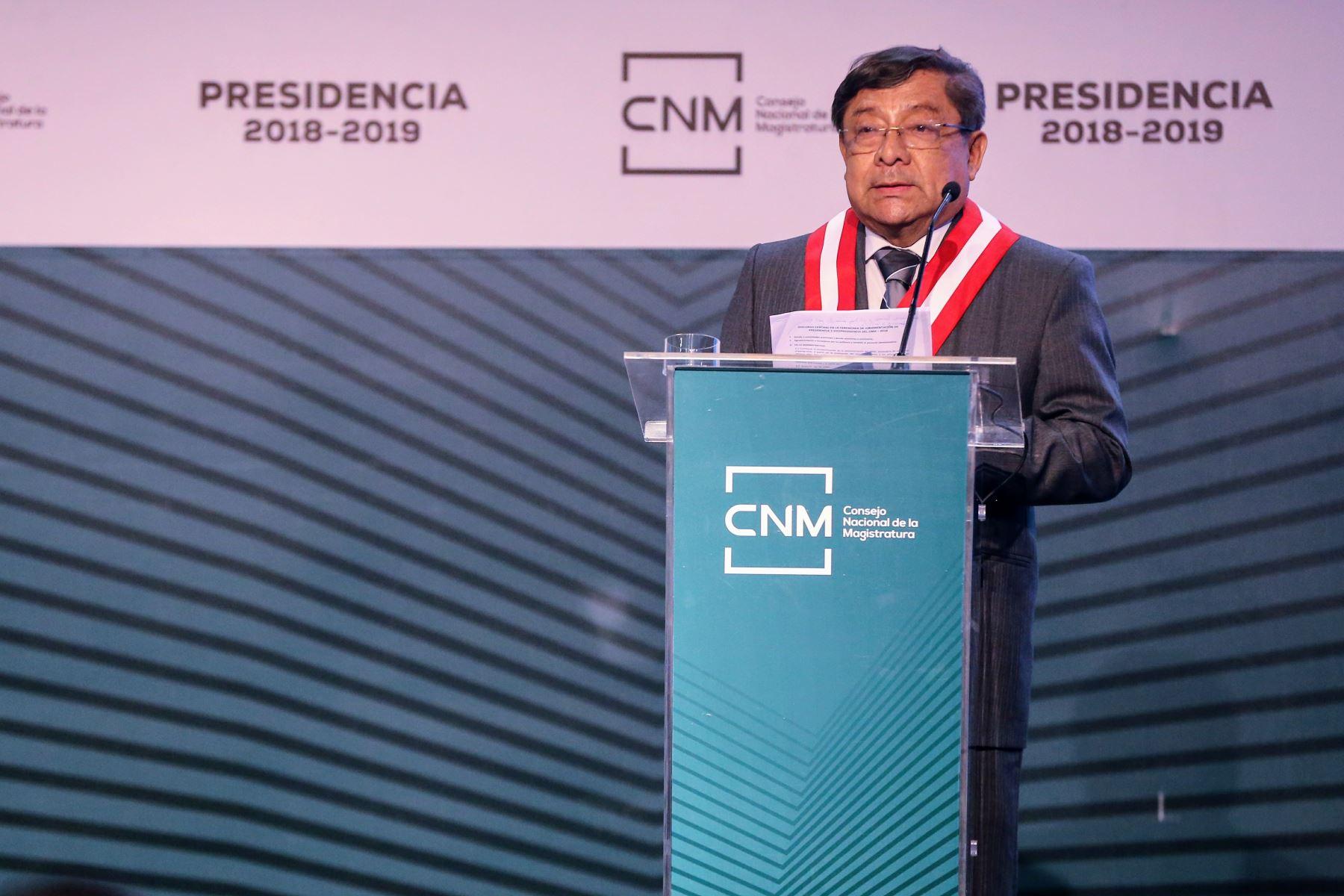 Renuncian presidente y miembros del Consejo Nacional de la Magistratura-CNM