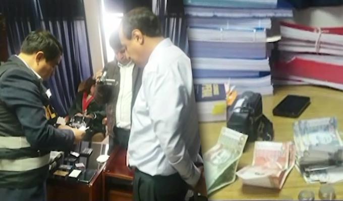 Cusco: Fiscal es intervenido por recibir coima para favorecer a litigante de proceso penal