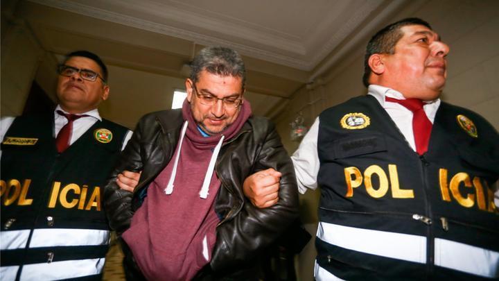 Exmagistrado Walter Ríos Montalvo fue trasladado al penal Ancón I