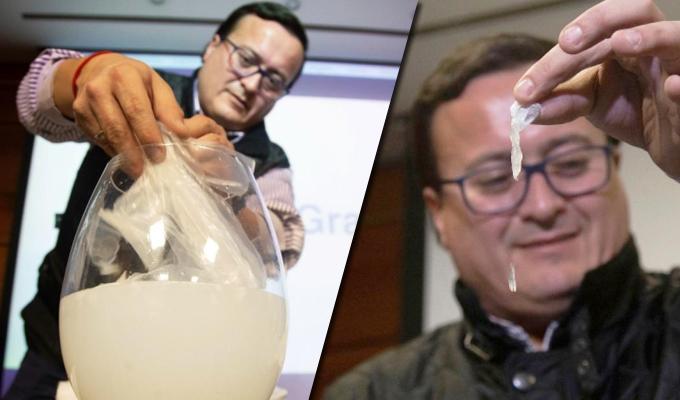 Chile: crean bolsas plásticas solubles en el agua que no contaminan