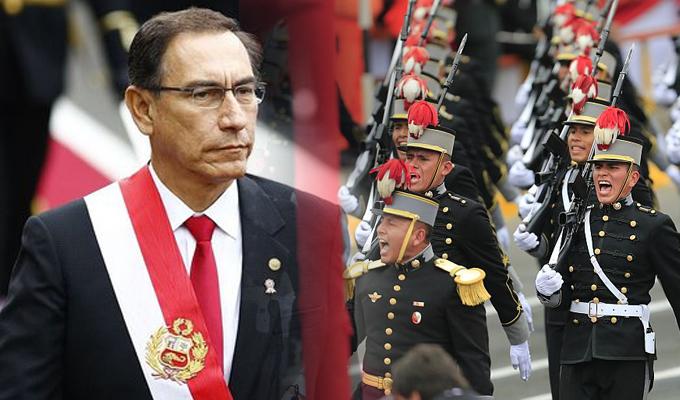 Mira lo mejor de la Gran Parada Militar en la Av.Brasil