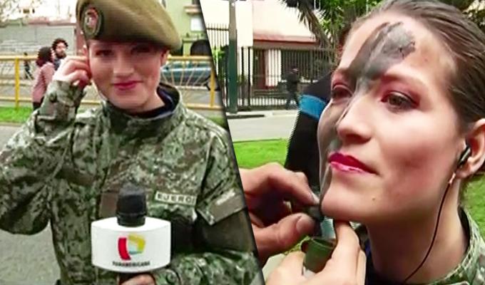 Desfile Patrio: periodista de Panamericana Televisión se une a destacamento del Ejército
