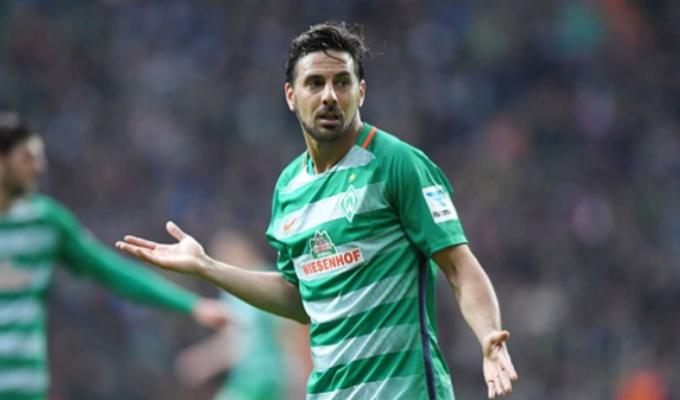 Estos son los diez mejores goles de Claudio Pizarro en el Werder Bremen