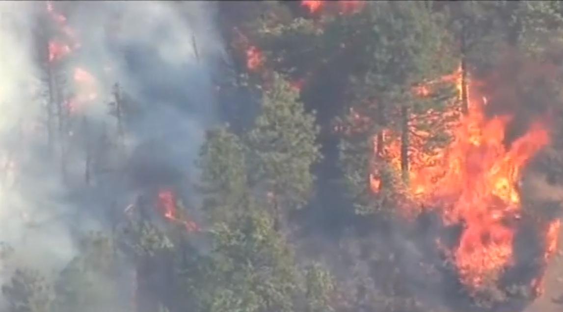 Nuevo incendio forestal afecta el distrito de Pocsi en Arequipa