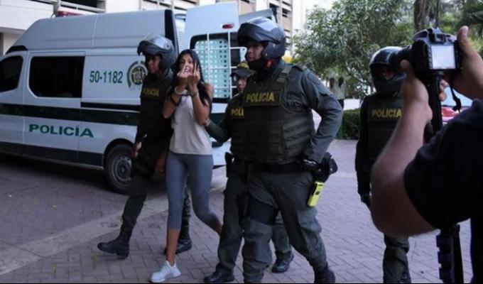 Colombia: 'La Madame' se mostró desafiante y amenazó con revelar nombres
