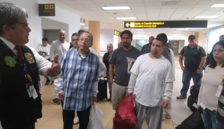 EEUU deportó a nueve peruanos tras cumplir sentencia por diversos delitos