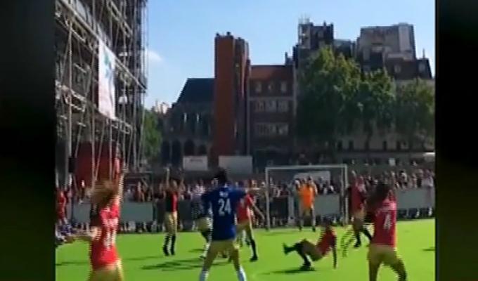 El 'fútbaile': la nueva técnica para jugar fútbol