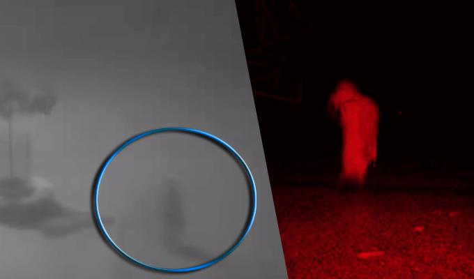 Ancón: cámara capta espeluznante aparición de un supuesto fantasma