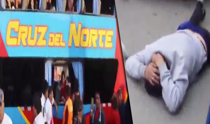 Pasajeros frustraron asalto a bus interprovincial en Huarmey