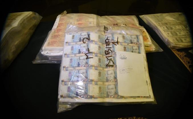 PNP incautó más de 2 millones de dólares y 4 millones de soles falsos en Ancón
